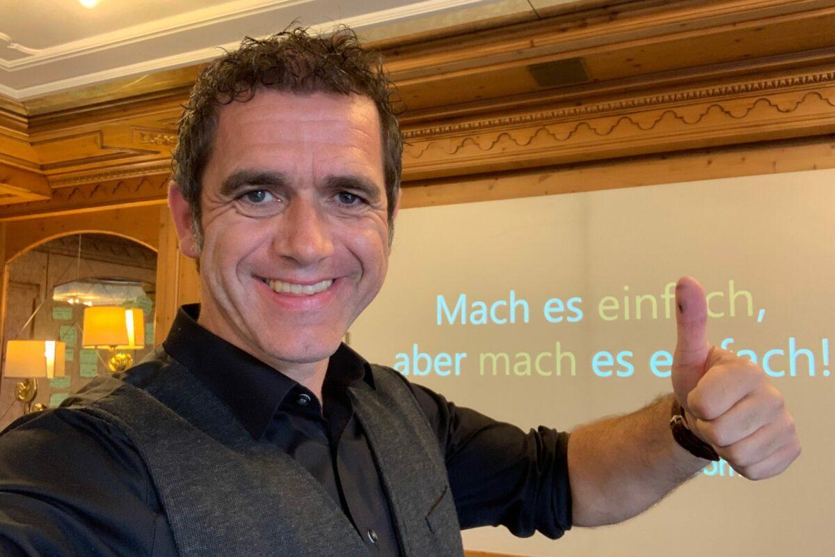 Armin Leinen im Unternehmerseminar